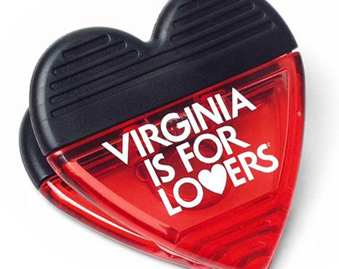 Heart Power Clip - Virginia is for Lovers ®