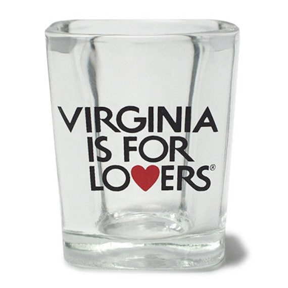 Square Shot Glass - Virginia is for Lovers ®