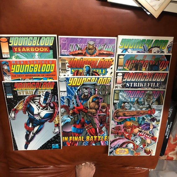 1992 1993 1994 Youngblood Comics - 10 books