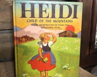 1950 Heidi Child of the Mountains