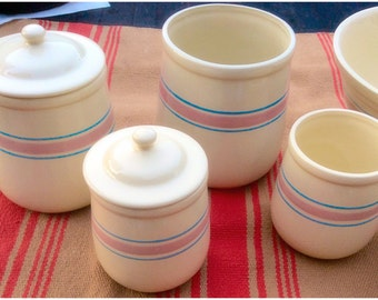 1970s MCCOY Storage Canisters