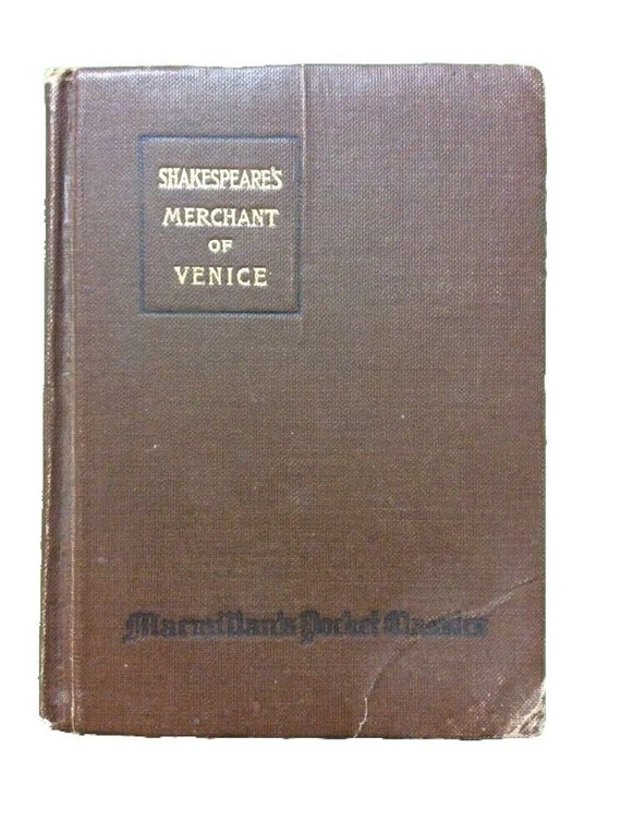 1919 MERCHANT OF VENICE Shakespeare
