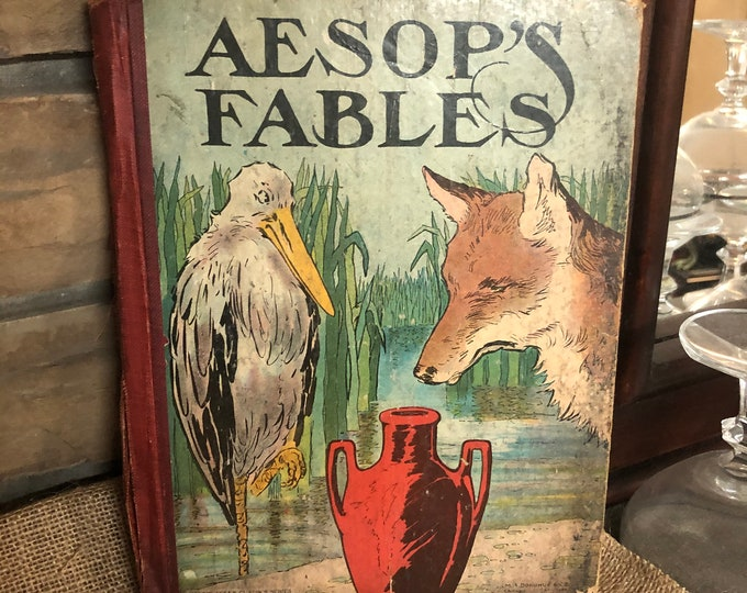1890 Aesop's Fables Classic Stories