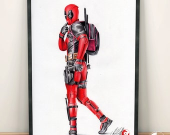 Deadpool Limited Edition Print
