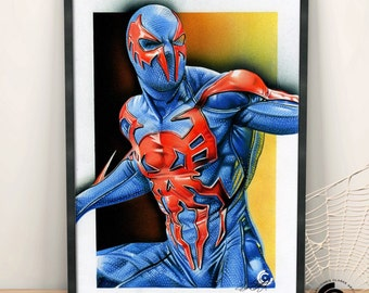 Spider-Man 2099 Limited Edition Print