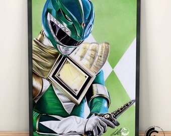 The Green Ranger Limited Edition Print