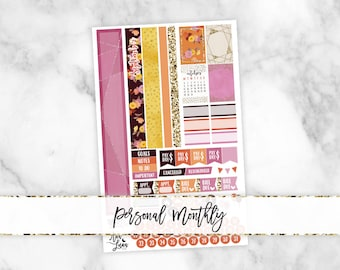 September Personal Monthly Kit - Sew Much Crafting Personal Size Planner Stickers