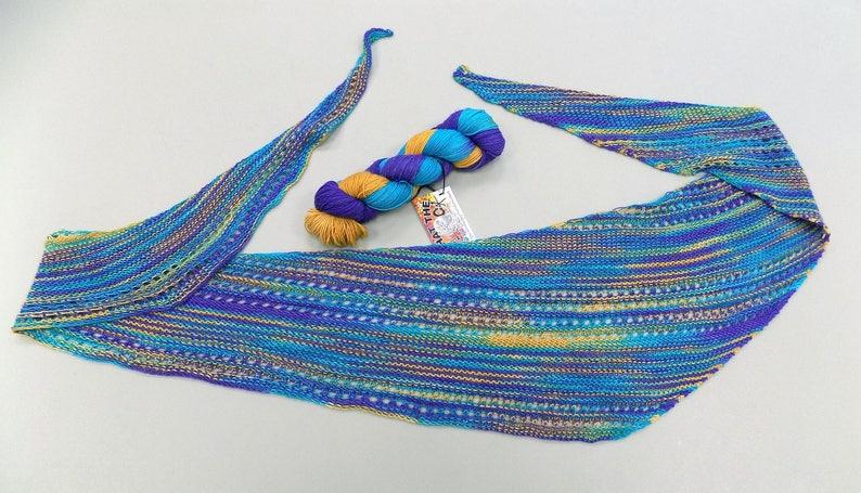 Crown Jewels of Egypt 100g Fingering Weight 7525 Superwash MerinoNylon Dye to Order