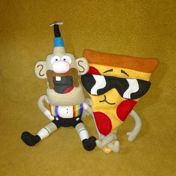 Uncle Grandpa Plush Toys Pizza Steve Mr Gus Uncle Grandpa Etsy