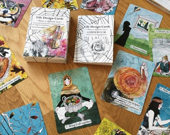 Pre-order Life Design cards - oracle deck - practical cards - mini guidebook- problem solving- oracle cards- nature - astrology- seasonal