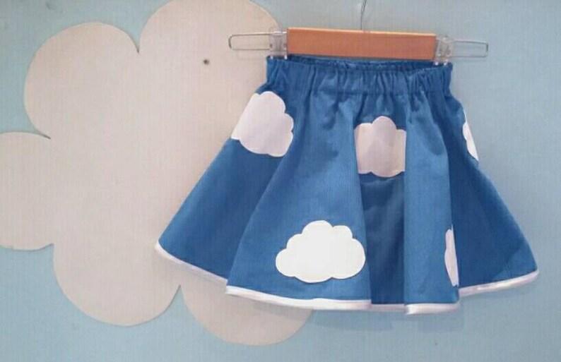 Cloud skater skirt