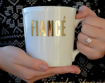Fiance Mug, Engagement mug, Future Mrs, Bride gift, engagement gift, Feyonce, bride to be, Coffee Mug, Tea Mug.