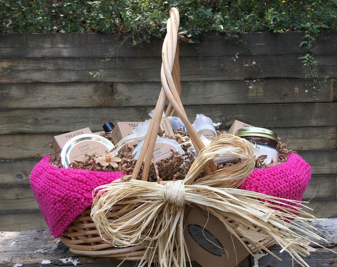 Chemo Gift Basket -   Cancer Patient Support - Extra Large in Pink