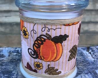 Pumpkin-Candle-Wooden Wick-Fall Decor