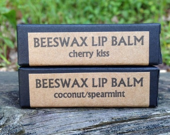 Beeswax Lip Balm Promotes Softer Hydrated Lips