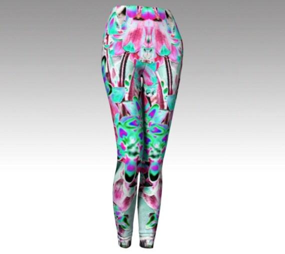 Artsy Leggings | Printed Tights | Yoga Pants | Workout Wear Womens