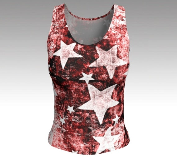 Artsy Star Tank Top   Fitted Tank Top Womens