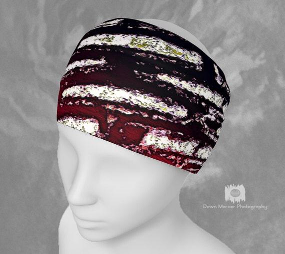 Cool Headband Abstract Hairband Cage Art Bandana Unique Neck Scarf Stylish Fashion Accessories Custom Printed Artist Designed