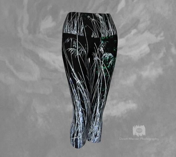 Nature Art Capri Leggings | Printed Capris | Yoga Capri