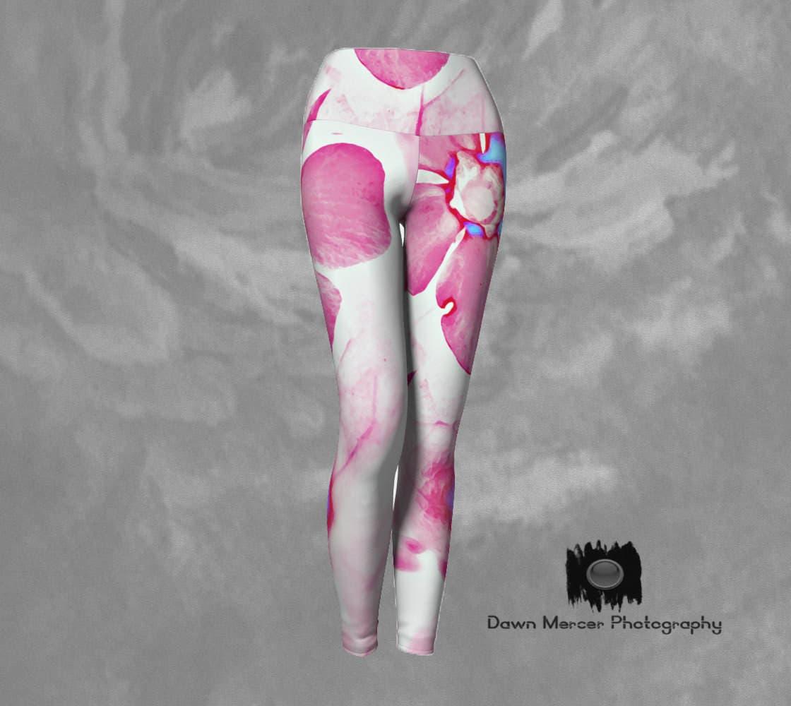 Flower Yoga Pants Floral Yoga Leggings Unique Printed Yoga Leggings