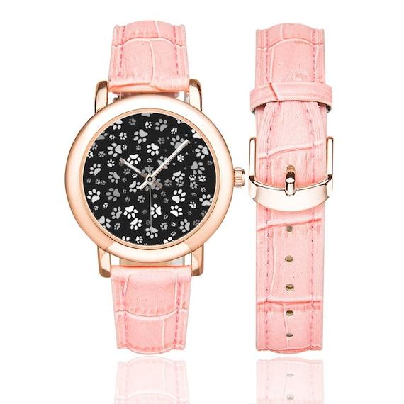 Paw Print Watch Womens | Dog Paw Wrist Watch