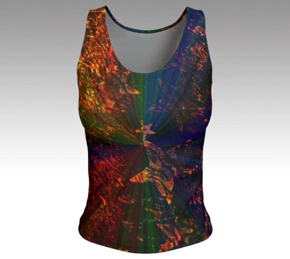 Starry Light Tank Top   Fitted Tank Top Womens