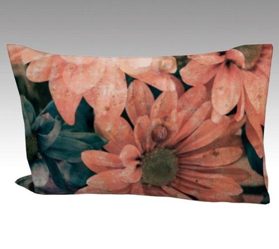 Vintage Daisy Pillow Case | Daisy Art Pillow Cover | Daisy Flowers Bed Pillow Sleeve