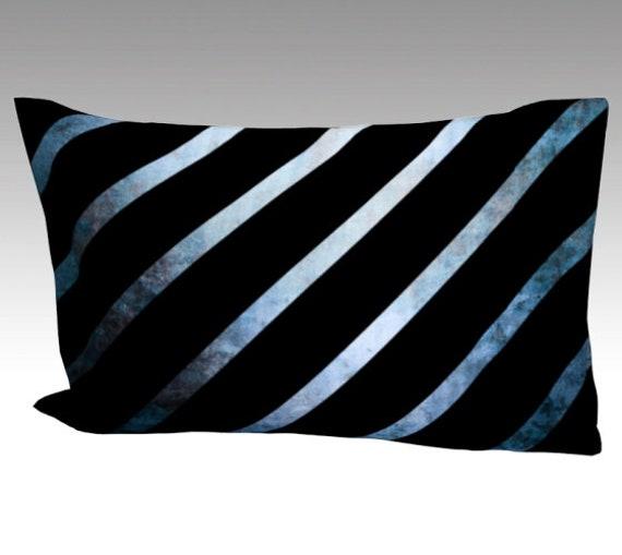 Striped Silk Pillow Case | Mulberry Silk Pillowcase | Striped Pillow Cover