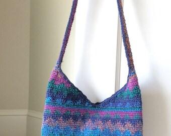 Beautiful Vintage Crocheted Shoulder Bag