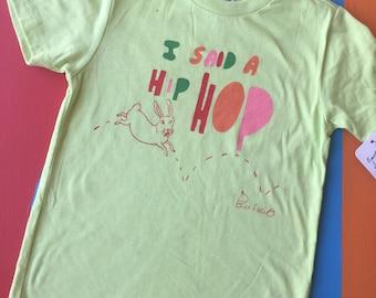 Kids toddlers hip hop bunny shirt
