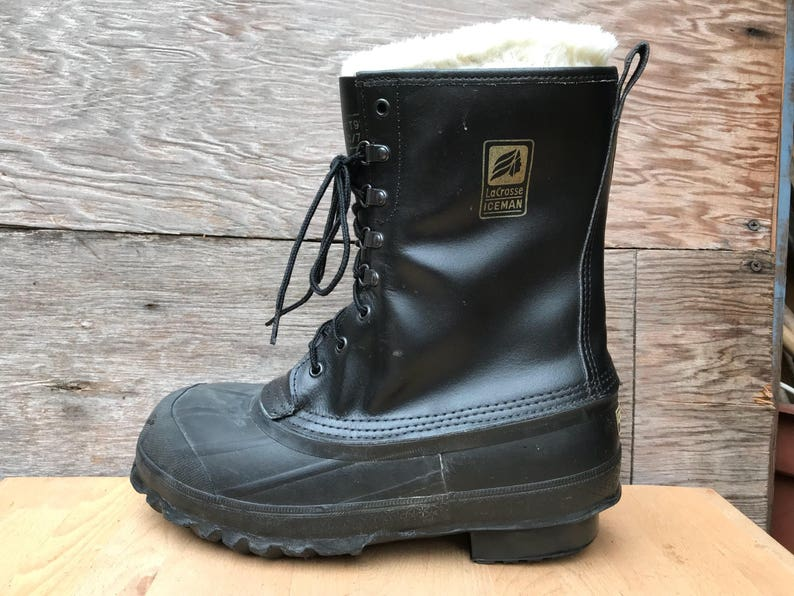 bddff017130 Lacrosse Iceman Snow Boots - Steel Toe Safety ANSI Z41 Extreme Cold Work  Boot - US Men's size 8-9 Women's 10 - 11