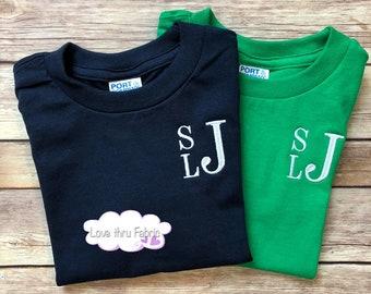Personalised monogram BOYS shorts set  White// silver monogram//summer clothing