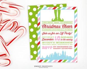 buddy elf invitation etsy