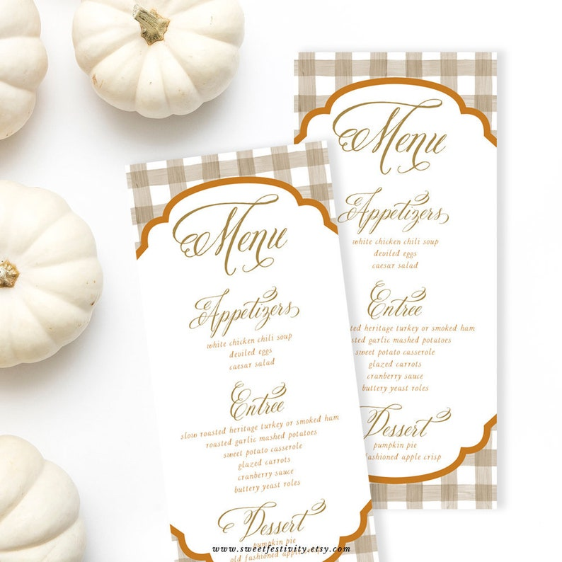photograph about Printable Thanksgiving Menu called Thanksgiving Menu, Printable Menu Card, Menu Card, Evening meal Menu, Printable Thanksgiving Menu, Thanksgiving Menu Card, Friendsgiving Menu Card