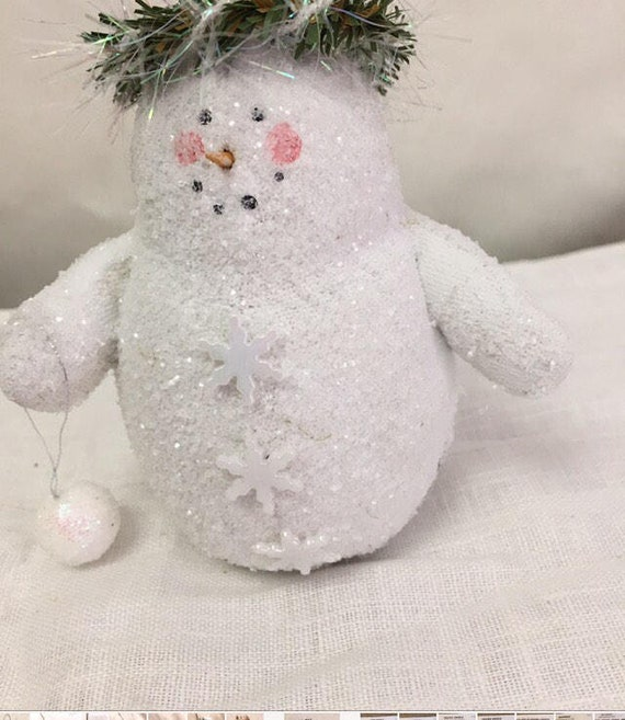 PK 3 READY FOR SNOWBALL EMBELLISHMENT TOPPERS FOR CARDS