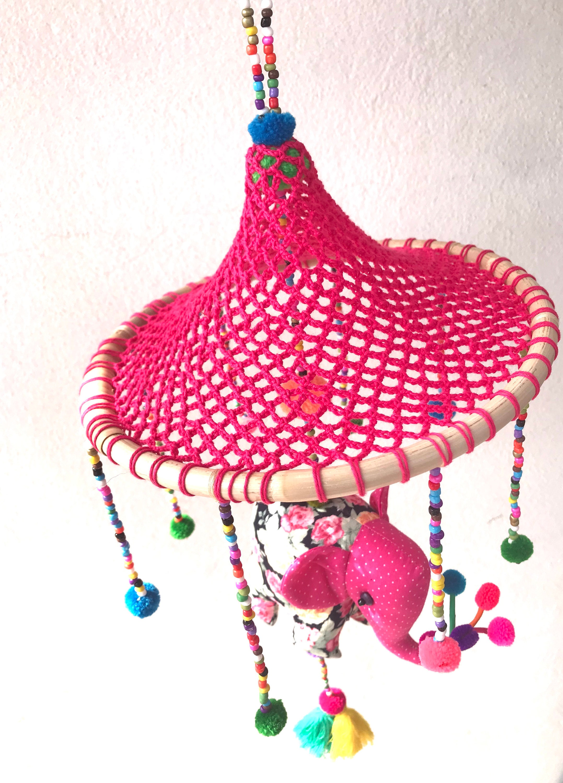 Crochet Elephant Edging - Free Tutorial   Applikationen häkeln ...   3000x2155