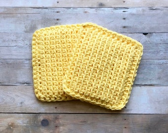 Crochet Sponge, Kitchen Dishcloth Set, Crochet Scrubbies, Handmade by KathysYarnCreations
