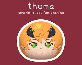 Genshin Impact INAZUMA fan omanjuu feat. Ayaka Kazuha Raiden Shogun Thoma