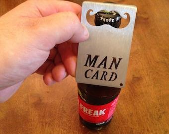 MAN CARD Wallet Sized Bottle Opener