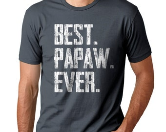 FATHERS DAY GIFT - Best Papaw Ever - Men's Tee - Gift For Dad - Small,  med, large, xlarge, XXl, XXXl