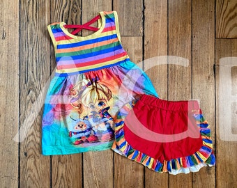 Rainbow Brite Outfit