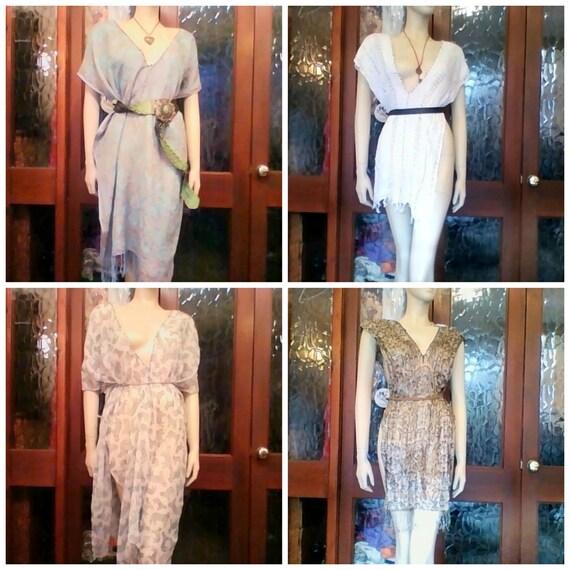 Hand Made New HELMUTSPORT Gorean Kajira Slavewear 4 Piece Camisks Ta-Teera Bundle With Belts And Necklaces Sizes 8-20 Free UK Pp GOR