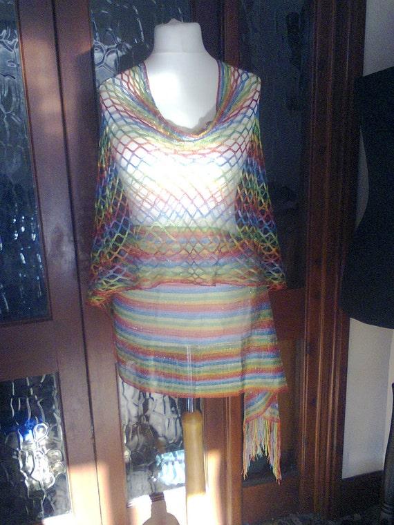 Sheer Gorean slave light pink dress NWT Zanzadesigns RolePlay Kajira Set