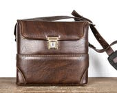 Vintage Leather Camera Ca...