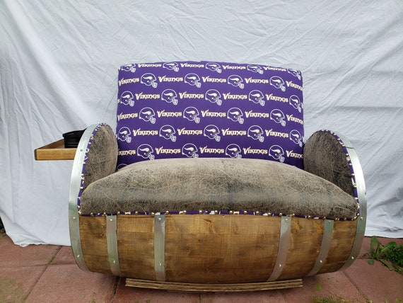 Minnesota Vikings Barrel Chair