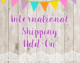 International Shipping Outside of the United States