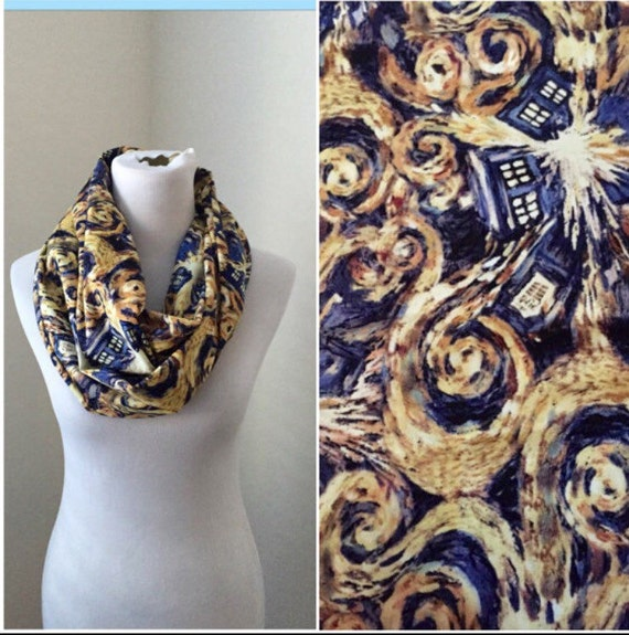 Doctor Who Scarf Exploding Tardis Now Available In Regular Etsy