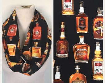 Whiskey and scotch scarf