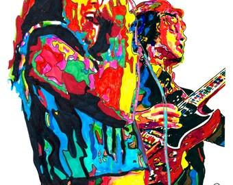 Gary Richrath REO Speedwagon Guitar Hard Rock Music Poster | Etsy