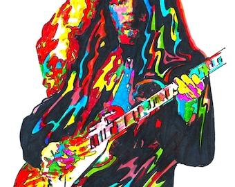 Gary Richrath REO Speedwagon Guitar Pop Rock Music Poster | Etsy